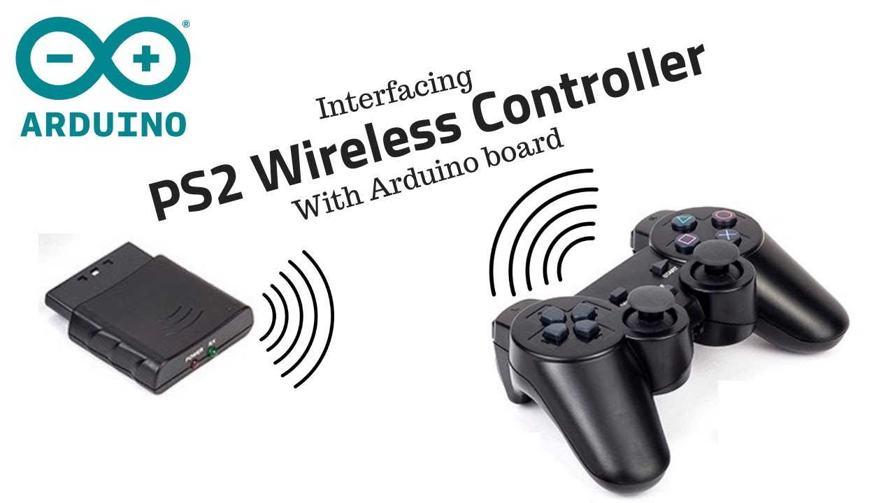 Interfacing Wireless PS2 Controller with Arduino