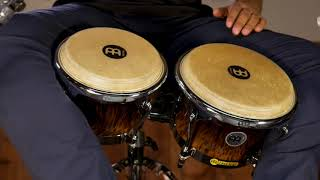 MEINL Percussion Latin Styles on Bongos - FWB400BB