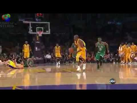 Grown man move ! Mark Jackson Kobe Bryant Lakers Celtics SIck Dunks Brown