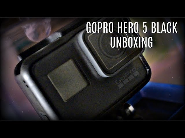 Unboxing The GoPro Hero 5 Black
