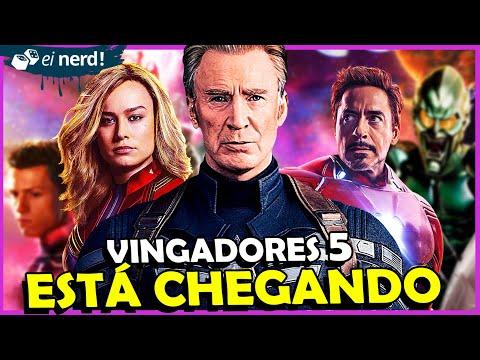 VINGADORES 5 É REAL E ESTÁ VINDO AI