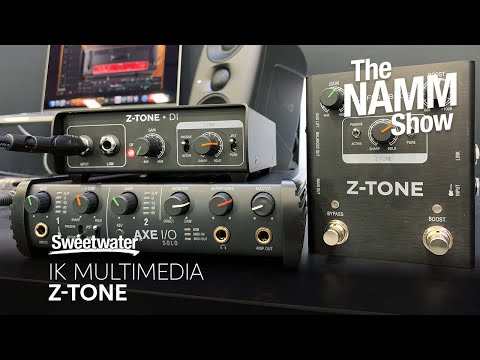 IK Multimedia Z-Tone Direct Box at Winter NAMM 2020