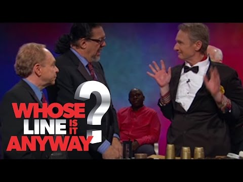 Penn and Teller VS Stiles and Mochrie - Whose Line Is It Anyway? US