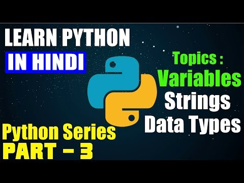 Python #3 | Variables, Data Types & Strings Indexing 🔥