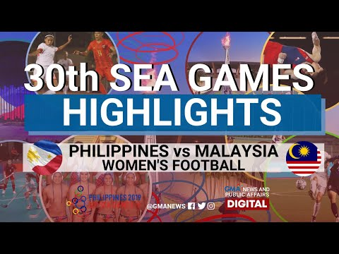 SEA Games 2019: Philippines vs Malaysia (Women's Football) Highlights