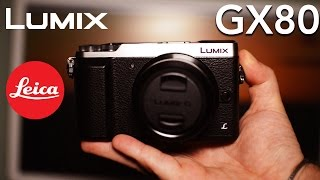 [RECENSIONE] Panasonic LUMIX GX80K: Mirrorless 4K robusta e compatta