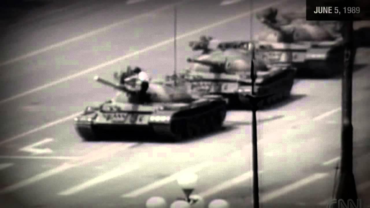 Tiananmen square tank man essay