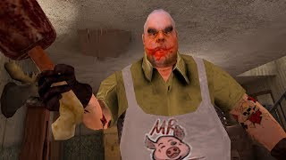 Мистер Мит - Комната ужасов (мобильная игра) обзор и прохождение Игры-головоломки Mr. Meat