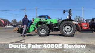 Deutz Fahr 4080E Utility Tractor
