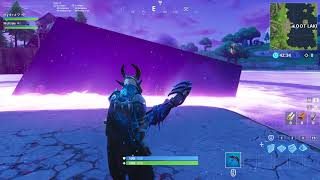 Fortnite Cube Sinking into Loot Lake Reaction LIVE