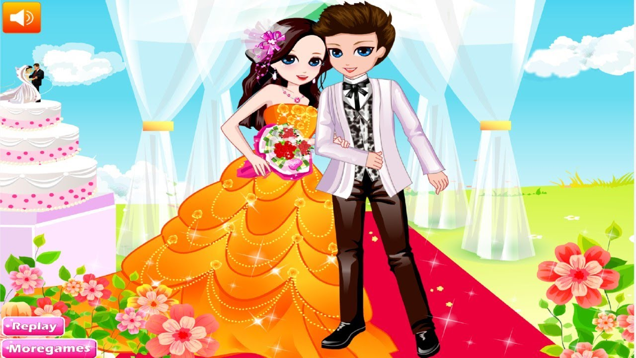 Beauty Rush For Wedding Dress Up Games For Girls - YouTube