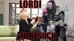 MR. LORDI beim bayerischen Frühstück auf der GRÜNEN COUCH