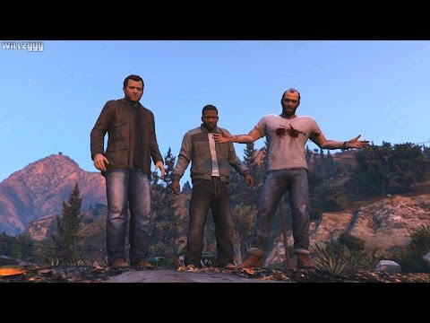 GTA 5 (PS4) - FINAL MISSION - The Third Way (Option C) [Gold Medal]