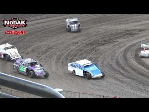 Nodak Speedway IMCA Sport Mod Heats (6/16/19)