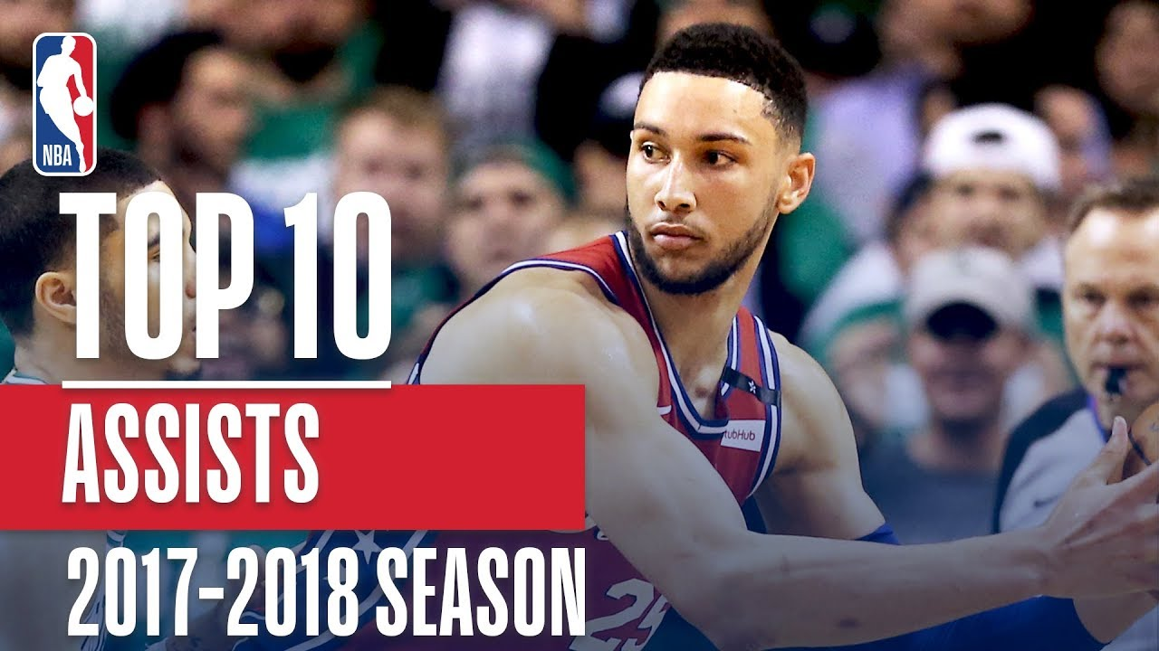 Top 10 Assists: 2018 NBA Season