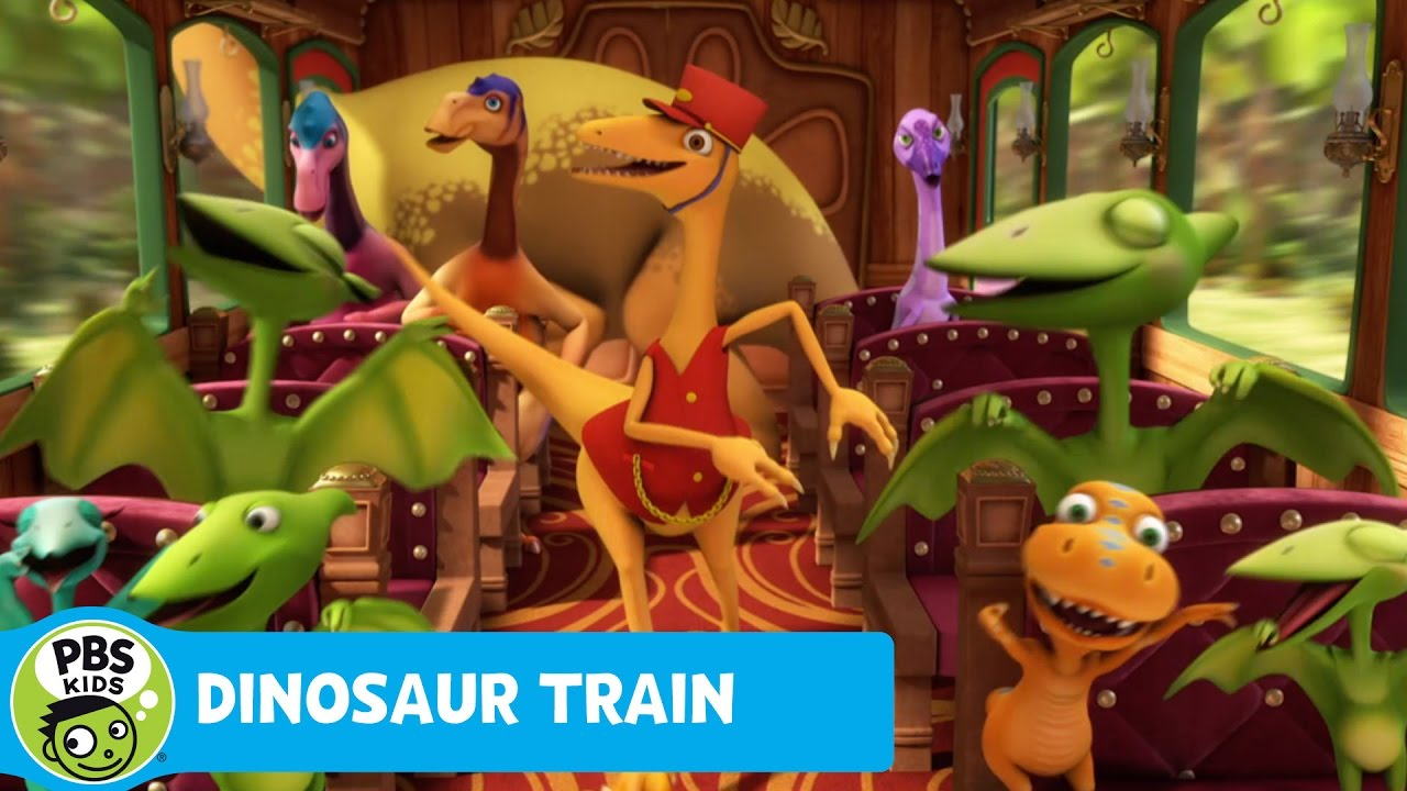 DINOSAUR TRAIN | Classic in the Jurassic Song and Dance ...