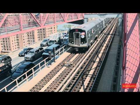 New York City Subway: The Williamsburg Bridge