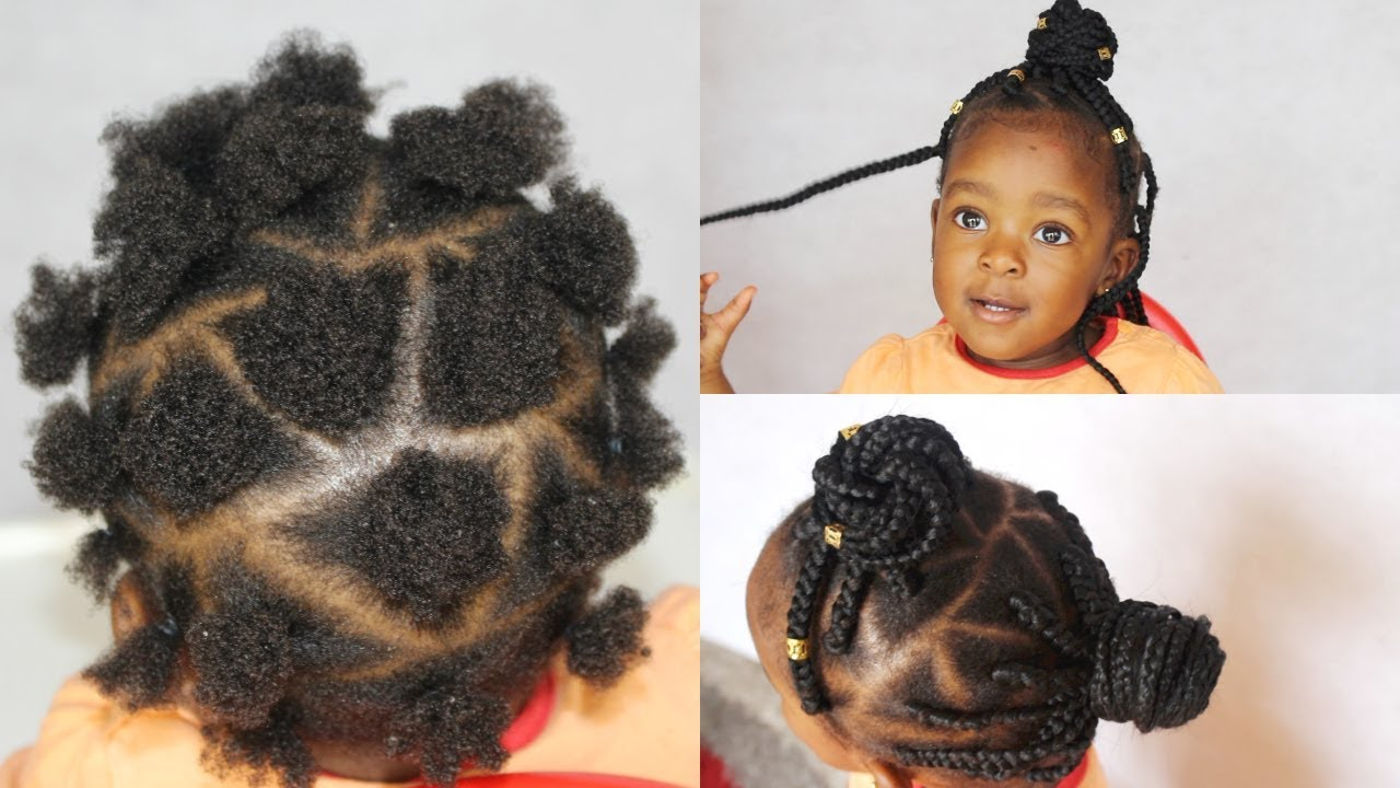 Box Braids Ii Triangle Rubberband Method Ii Kids Edition
