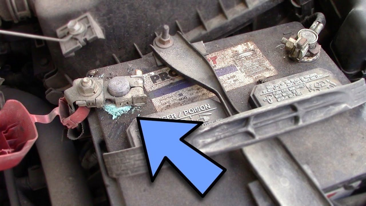 How to clean car battery terminals troubleshoot 1 car won t start youtube