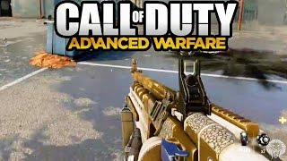 COD Advanced Warfare: NEW Gameplay Analysis! Search & Destroy, Gold Exo, Weapons (Call of Duty AW)