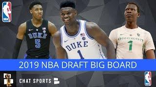 2019 NBA Draft: Top 30 Players Post-Combine   Big Board v1.0