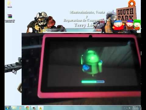 Reinstalar Android en tablet DRAGON TOUCH Y88