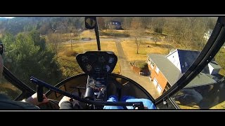 Private Helicopter Lands Neighbor's Lawn l MUST SEE!!