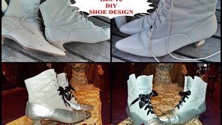Miss Ruby Tuesday-  How To DIY Shoe Design