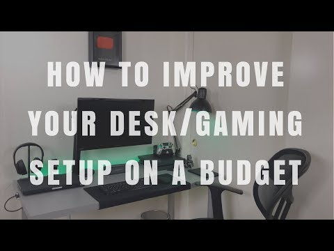 Top 5 Accessories And Tips To Improve Your Desk / Gaming Setup - Cable Clips, Monitor Arm And More!