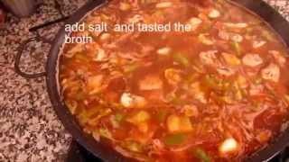 Authentic Traditional Paella Valenciana Recipe 1882