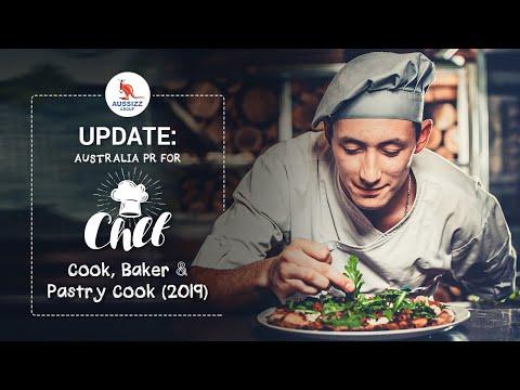 Update: Australia PR For Chef, Cook, Baker & Pastry Cook [2019]