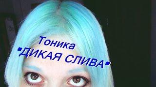 ТОНИКА. ДИКАЯ СЛИВА. Голубые волосы. Советы для чайников вещает баба Винней(, 2015-07-31T14:24:09.000Z)