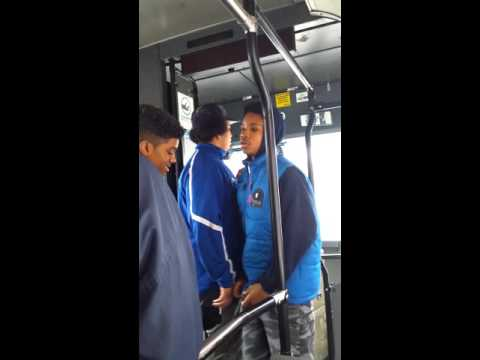 Problems inside bus 103 cote St Luc montreal