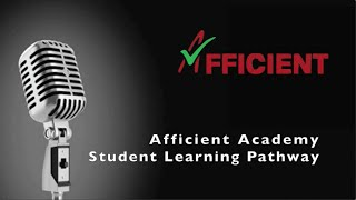 Afficient Academy Student Learning Pathways