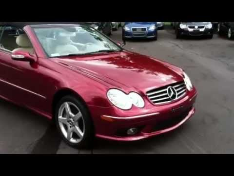 Amg Auto Sales >> eimports4Less Reviews 2005 Mercedes CLK500 V8 AMG Convertible for sale - YouTube