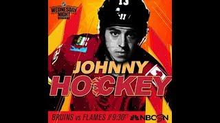 NHL 19 PS4. REGULAR SEASON 2018-2019: Boston BRUINS VS Calgary FLAMES. 10.17.2018. (NBCSN) !