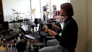 Yamaha DTX500 Electronic Drum Kit Demo