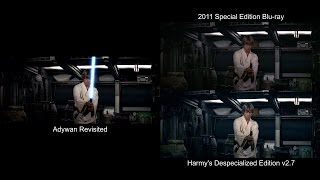 Скачать REVISITED Lightsaber Training A New Hope 1977 Revisited Blu Ray DeEd