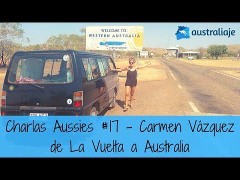 La Vuelta a Australia. Carmen Vázquez. Charlas Aussies #17