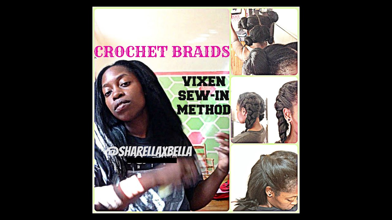 How To: Vixen {no-sew} Crochet Braids Natural & Realistic Sharella ...