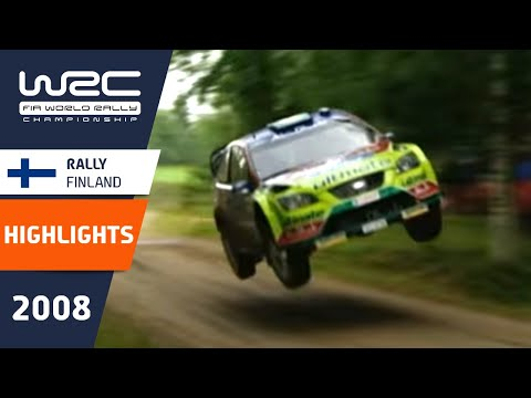 WRC Highlights: Finland 2008: 52 Minutes