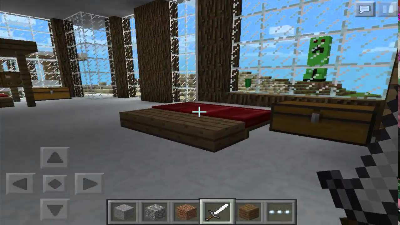 Minecraft pe casas modernas 2 funnydog tv for Casa moderna xbox 360 minecraft