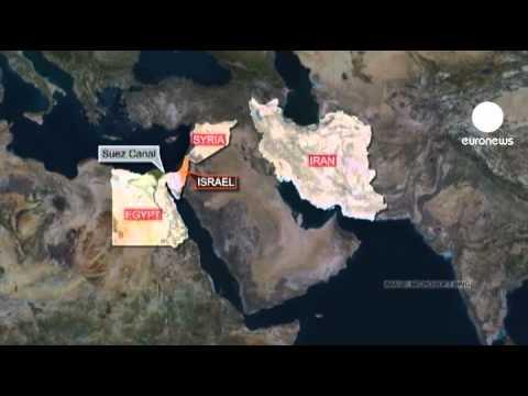 Iranian warships pass through Suez Canal