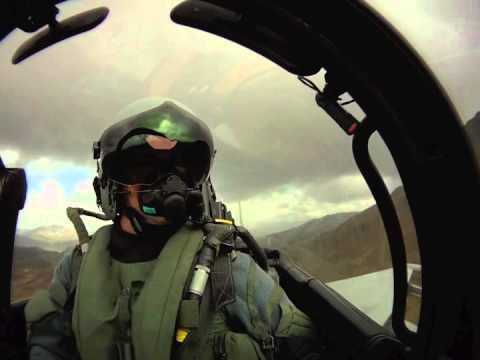 Unlimited RAF Eurofighter Typhoon in-cockpit helmet cam video