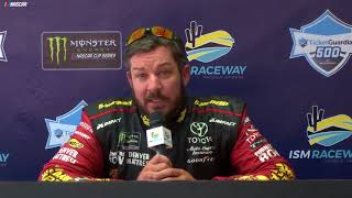 Фото с обложки Truex Takes First Pole Of Season At Ism Raceway