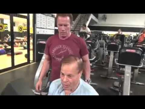 Arnold schwarzenegger & Franco Columbu training 2016 - YouTube