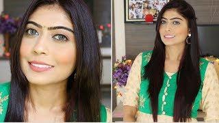 Easy RakshaBandhan Makeup Tutorial   Rinkal Soni