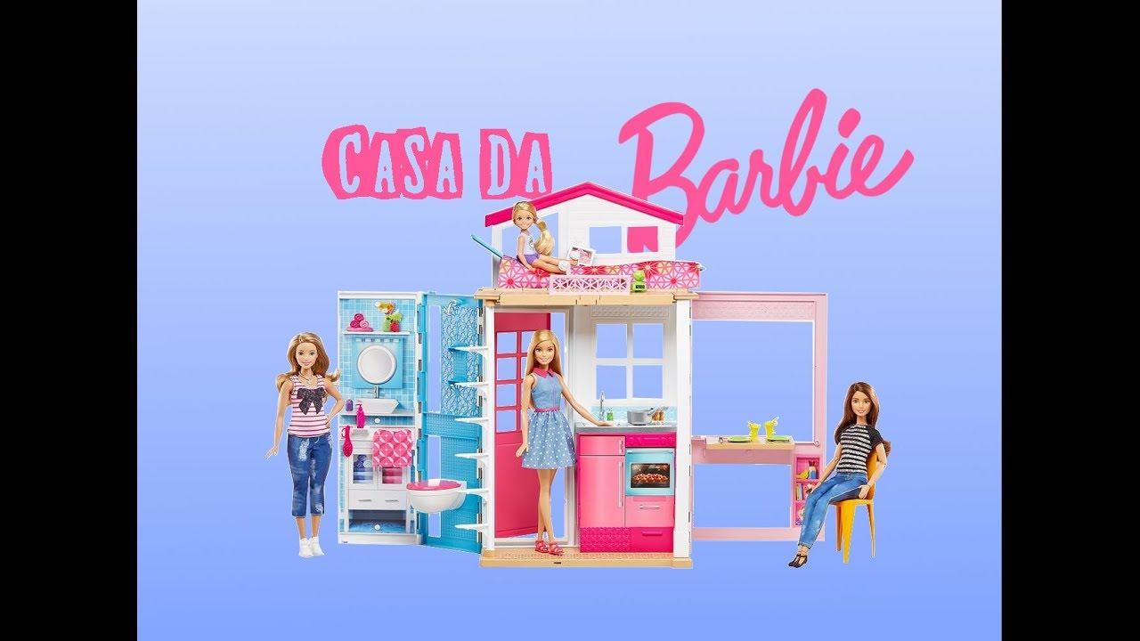 Casa de Férias da Barbie | 2 andares de muita fofura | Canal Tia Barbie