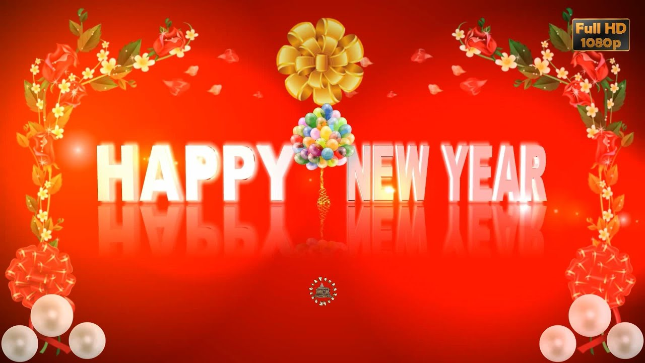 Greetings for Happy New Year, 2020 Video, Free Animated ...