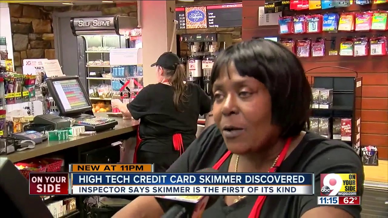 Investigators discover wireless credit card skimmer at Sharonville gas  station